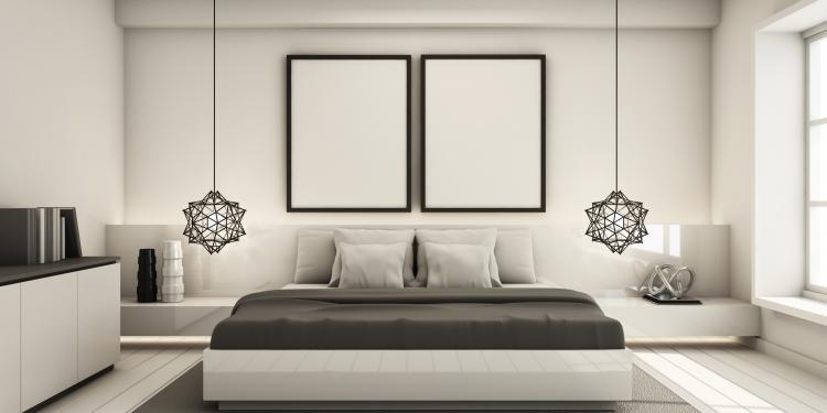 Décoration chambre minimaliste, conseil décoration, décoration intérieure