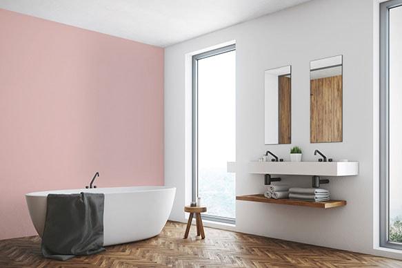 Des couleurs pastels dans la salle de bain ?, Décoration intérieure